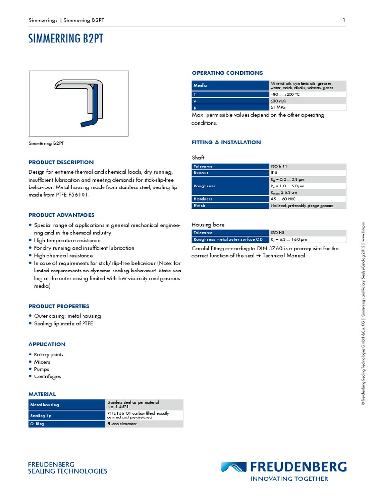 productdatasheet-b2pt | Building Engineering | Materials