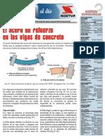 El Acero de refuerzo en las Vigas de concreto.pdf