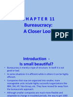 1.Chapter 11 - Bureaucracy-A Closer look.pptx