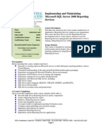 6236-Implementing and Maintaining Microsoft SQL Server 2008 Reporting Services