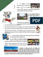 Ficha Mundialista Fracciones