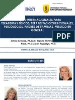 TERAPIAS FISICAS, OCUPACIONALES PUBLICO EN GENERAL