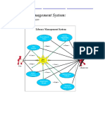 Library Management System System Use Case Diagram
