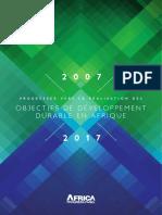 Progresser vers la réalisation des Objectifs de Développement Durable en Afrique