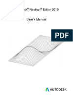 Autodesk Nastran Editor 2019 User's Manual