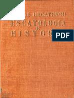 Escatología e Historia - George Uscatescu (V3)