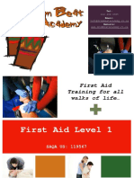 First Aid Level 1 Learner Guide 2014