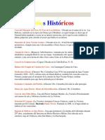 Sitios Históricos del Estado Yaracuy