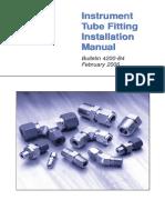 PARKER_Tube Fitting Installation Manual