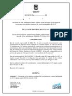 Decreto IVIUR 2018