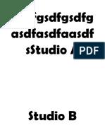 Studio A