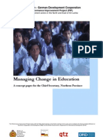 NPC Managing Change in Education Report - Full Version NEW READY