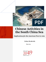 Chinese Activities in the South China Sea