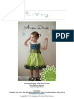 Anna Dress PDF Pattern