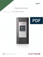 Installation Manual  Inverter PLATINUM 4300-7200TL