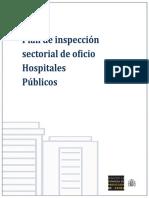 Plan de inspección para hospitales públicos