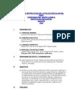 Plan de Trabajo - Policia Escolar 2005