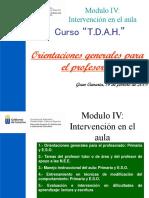 TDAH Orientaciones GC