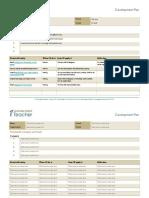 CPD Teacher Development Plan for Teachers