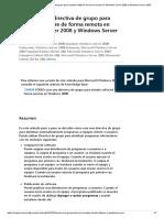 GPOS Para Software Remoto