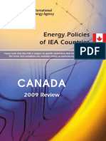 ECON 366 Energy Policies of IEA Countries - Canada 2009 - Read Chapter 9 Copy