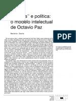Octavio Paz Política e Poética