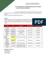 Propuesta Juramentación Brigada Escolar 05-2018 Escuelas