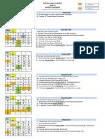 2018-19 Canton Calendar