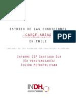 Condiciones carcelarias en Chile