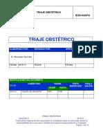 Protocolo Triage Obstétrico