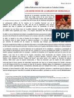 10 Avances Sobre Los Derechos de La Mujer en Venezuela