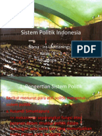 16170185 Sistem Politik Indonesia