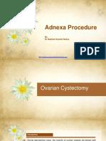 Adnexa Procedure 2018