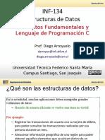 1-Estructuras de Datos Elementales y Lenguaje C