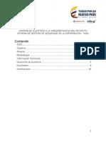 Informe Auditoria SGSI 2016