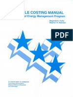Handbook 135 Life Cycle Costing Manual Fot the Federal Energy Management Program