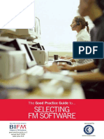 Software for facility managers