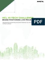Hi Tech Challenge Case