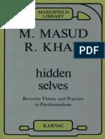[Masud Khan] Hidden Selves Between Theory and Pra(BookZZ.org)