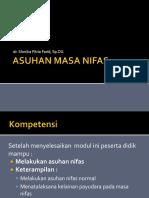 27 Asuhan Masa Nifas - Dr. Monika F.farid, SpOG, M.kes