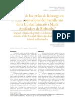 Dialnet-ImpactoDeLosEstilosDeLiderazgoEnElClimaInstitucion-5981080