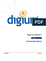 Skype for Asterisk Admin Manual