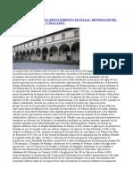 Mujeriego - Arquitectura Del Renacimiento en Italia