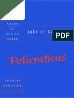 John of Salisbury_ Policraticus - John of Salisbury
