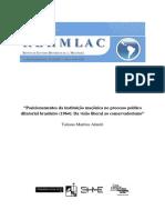 Tatiana Martins Almeri - A Maconaria e o Golpe Militar de 64