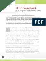 The Itil Framework