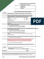 Pre Construction Risk Assessment (PCRA) 7-10-2015