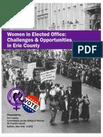 Women in Elected Office Report