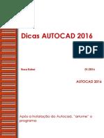 Dicas Autocad