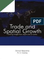 Abeyratne Cooray 2016 Trade Spatial Growth